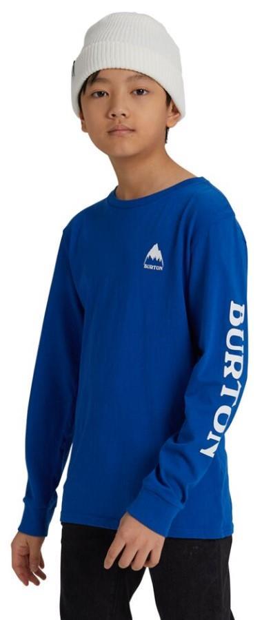 Burton Kid's Kid's Elite Long Sleeve T Shirt, M Lapis