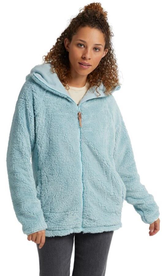 Burton Women's Lynx Full-Zip Women's Fleece Hoodie, S Ether Blue