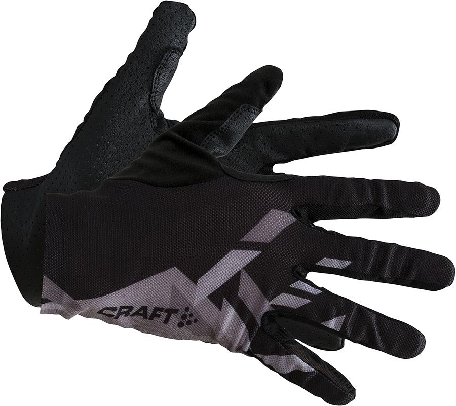 Craft Pioneer Control Running/Cycling Gloves, M Black/White