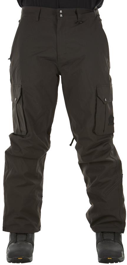 Sessions Adult Unisex Squadron Ski/Snowboard Pants, L Black