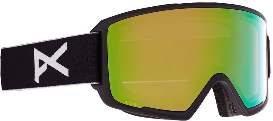 Anon M3 Perceive Variable Green Ski/Snowboard Goggles, M/L MFI Black