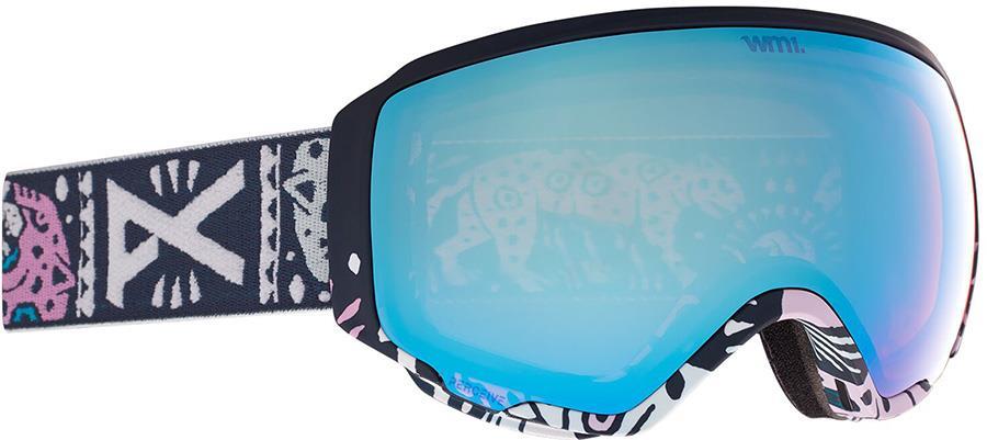 Anon WM1 Perceive Blue Women's Ski/Snowboard Goggles, S/M MFI Noom