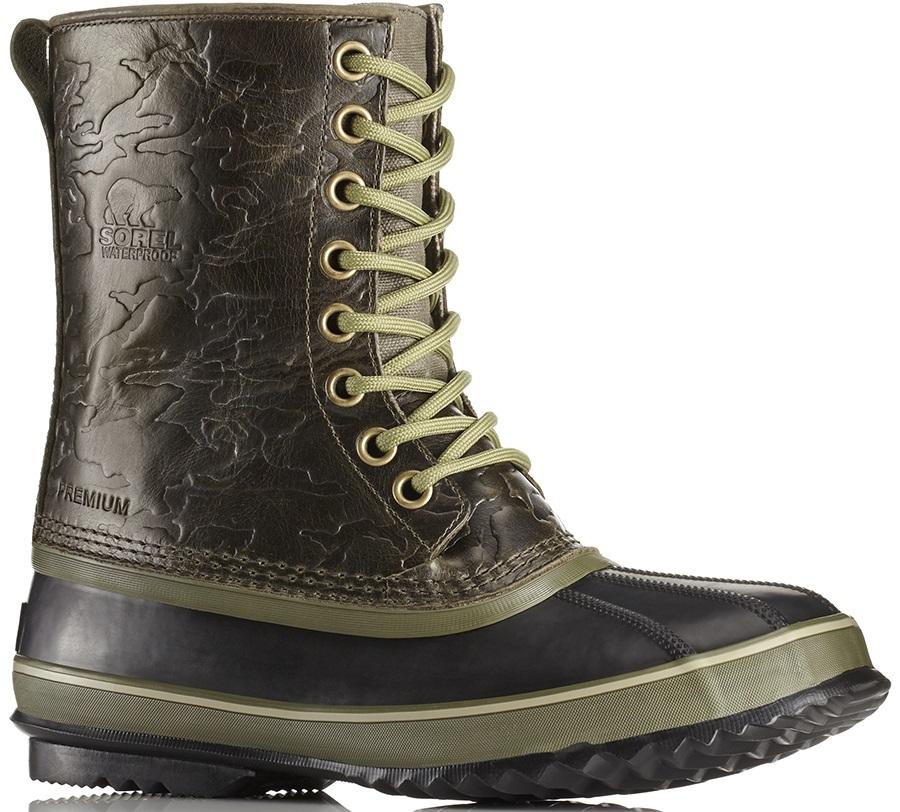 Sorel 1964 Premium T Wool Men's Winter Boots, UK 12 Nori/Black