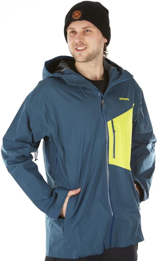 Patagonia SnowDrifter Snowboard/Ski Jacket, S Crater Blue