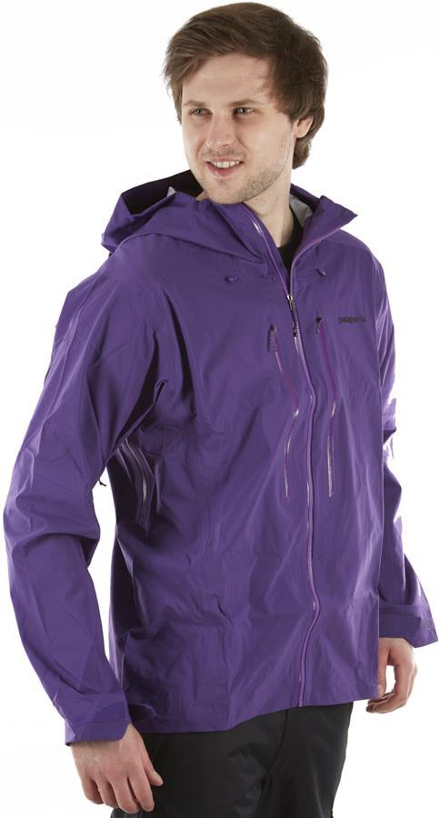 Patagonia Stormstride Ski/snowboard Zip Up Jacket, M Purple