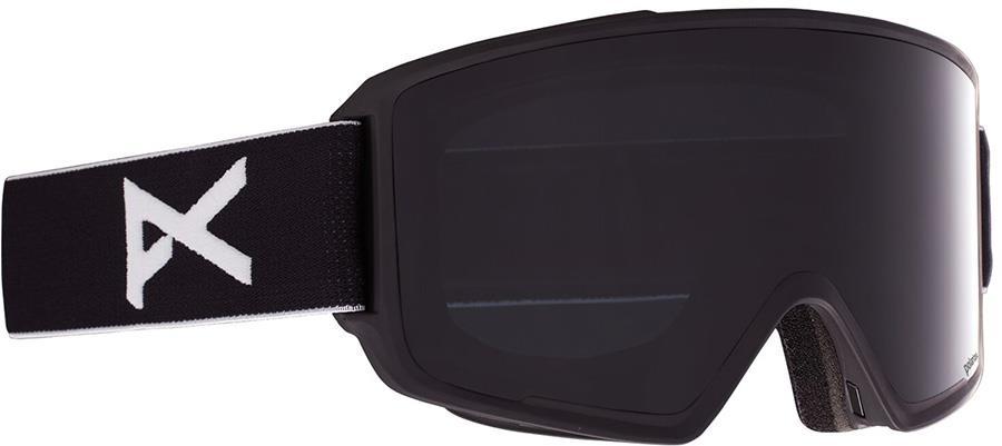 Anon M3 Polarized Smoke Ski/Snowboard Goggles, M/L Black