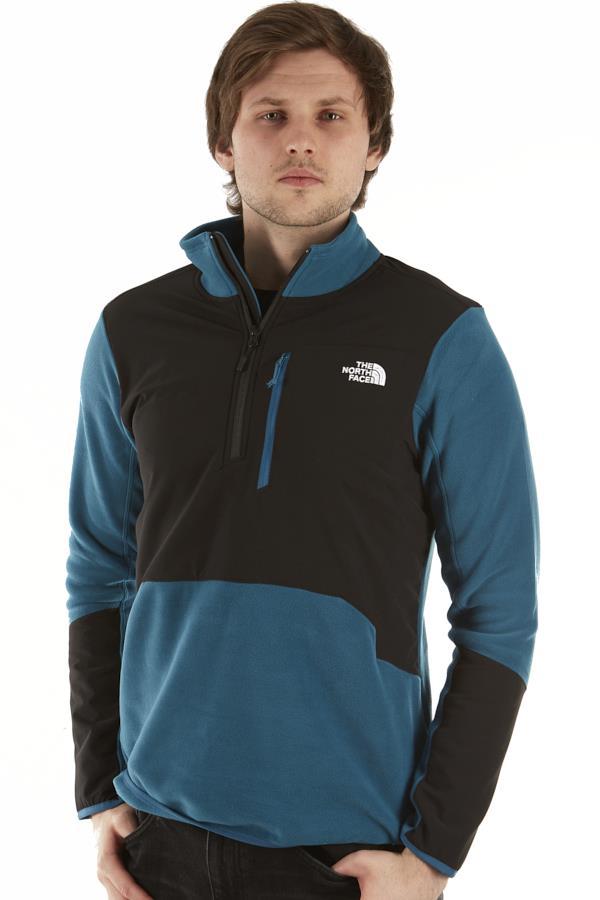 The North Face Glacier Pro 1/4 Zip Fleece Jacket, S Moroccan Blue