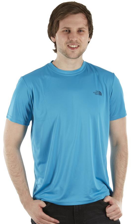 The North Face Reaxion Amp Crew T-Shirt, L Meridian Blue