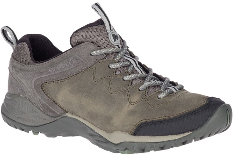 Merrell Siren Traveller Q2 Leather Women's Walking Shoes UK 8 Grey