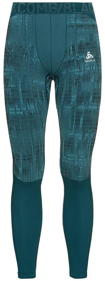Odlo Blackcomb Base Layer Men's Long Pant, XL Submerged