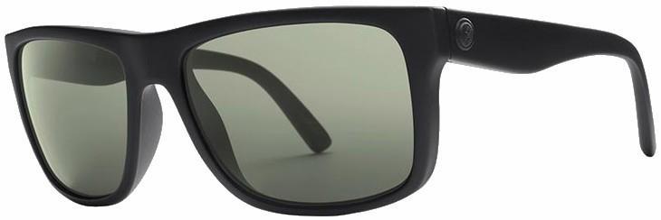 Electric Swingarm Grey Lens Sunglasses, M/L Matte Black Frame