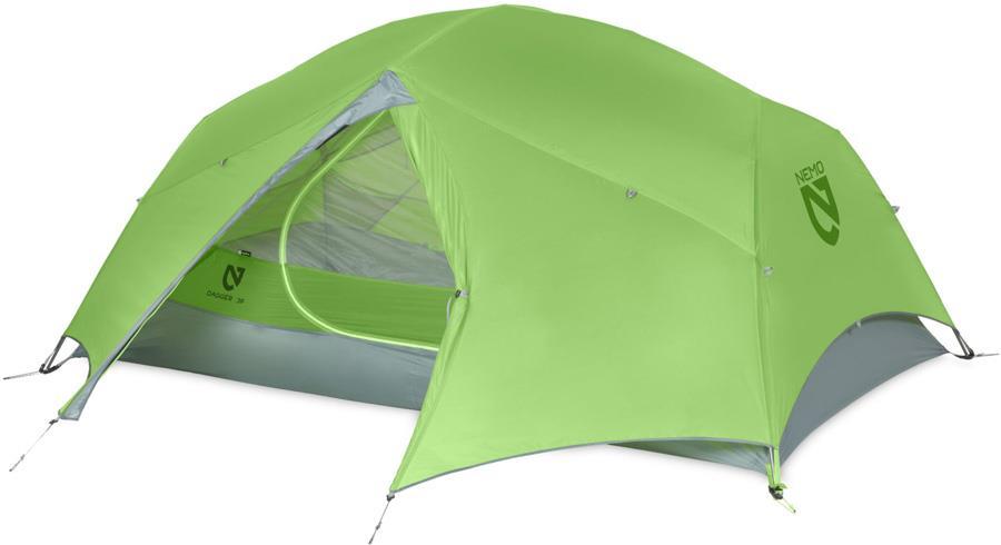 Nemo Dagger 3 Ultralight Backpacking Tent, 3 Man Birch Leaf