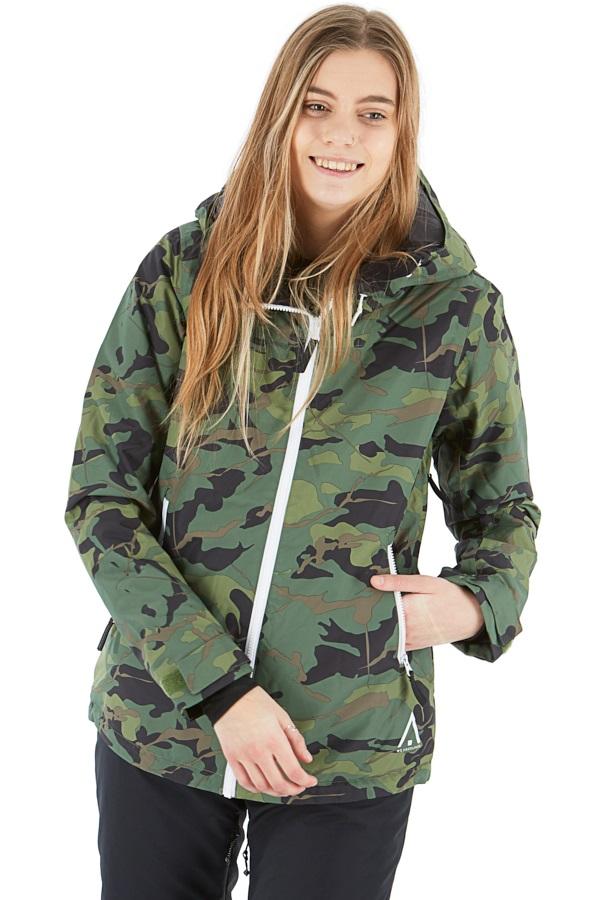 Wearcolour Cake Women's Ski/Snowboard Jacket L Dark Forest