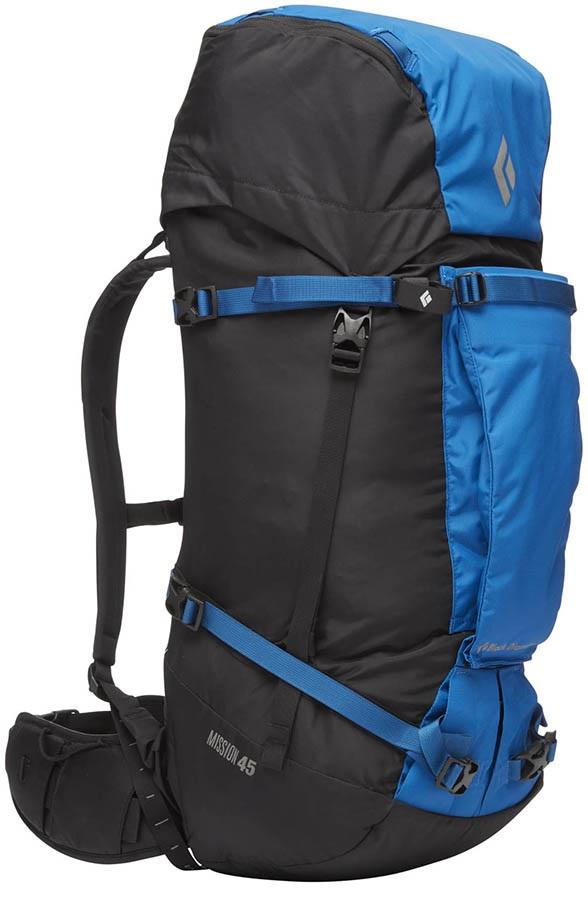 Black Diamond Mission 45, 45 Litres, Alpine Backpack, S-M Cobalt/Black