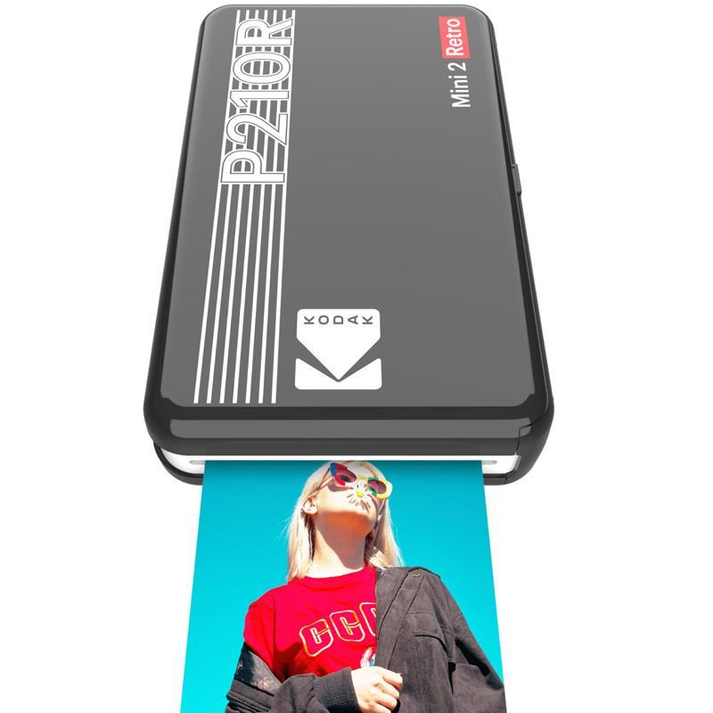 Kodak Mini 2 Retro Portable Instant Photo Printer Black
