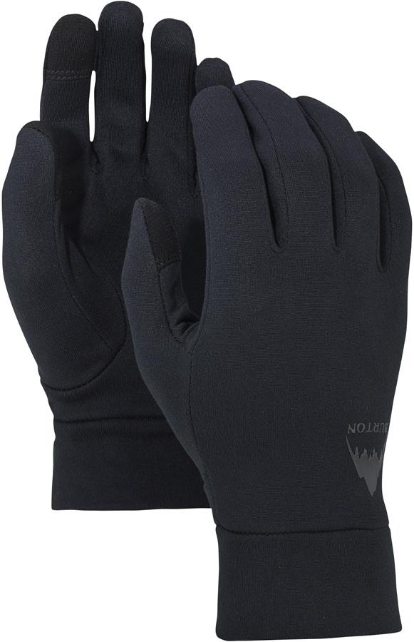 Burton Screen Grab Ski/Snowboard Glove Liner, L/XL True Black