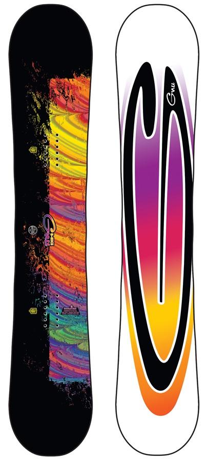GNU B-Nice Asymmetric Women's Hybrid Snowboard, 151cm 2020