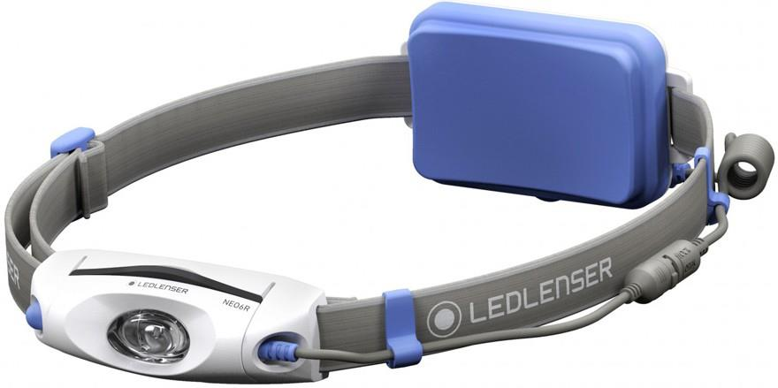 Led Lenser NEO6R Headlamp IPX7 Rechargable Running Head Torch, Blue