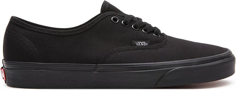 Vans Authentic Skate Shoe, UK 9 Black/Black