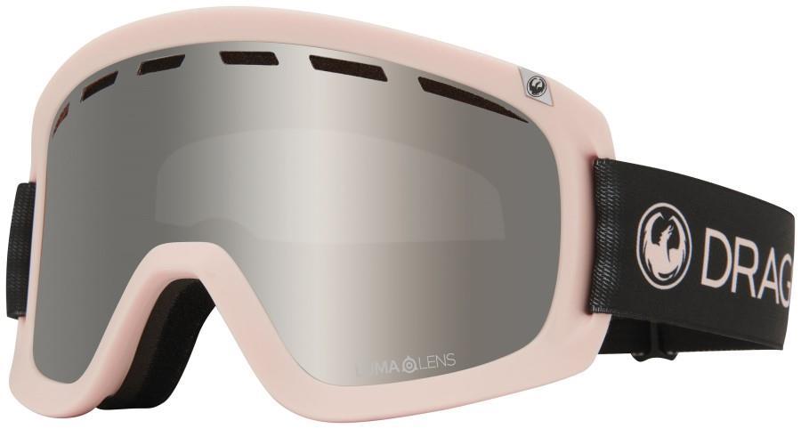 Dragon D1 OTG LumaLens Silver Ion Snowboard/Ski Goggles L Sakura