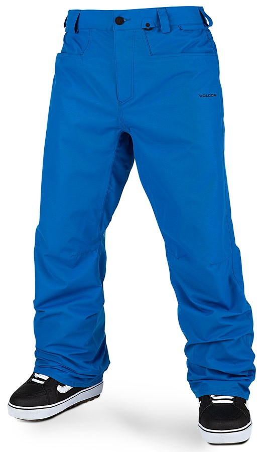 Volcom Adult Unisex Carbon Men's Snowboard/Ski Pants, M Cyan Blue