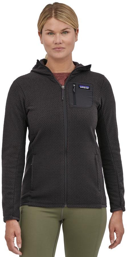 Patagonia R1 Air Full-Zip Fleece Jacket, UK 10 Black