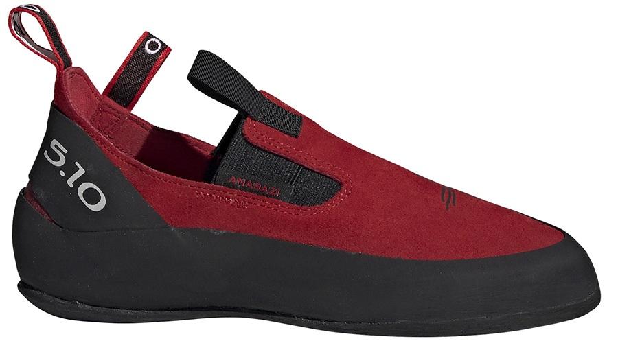 Adidas Five Ten Moccasym Rock Climbing Shoe, UK 6 | EU 39.3 Red/Black