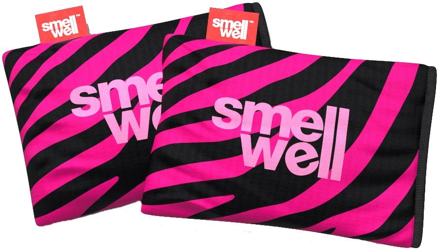 SmellWell Active Freshener Inserts Odour Eliminator, Pink Zebra
