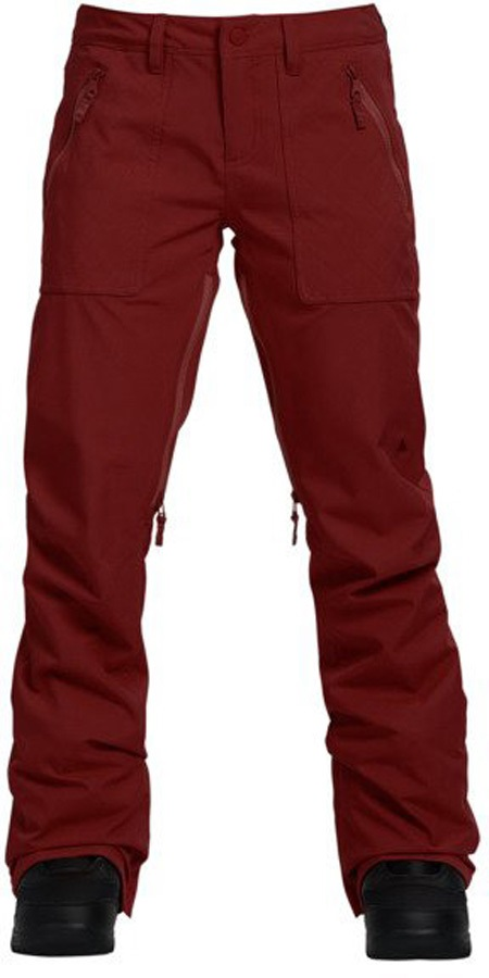 Burton Vida Women's Ski/Snowboard Pants, S Sparrow