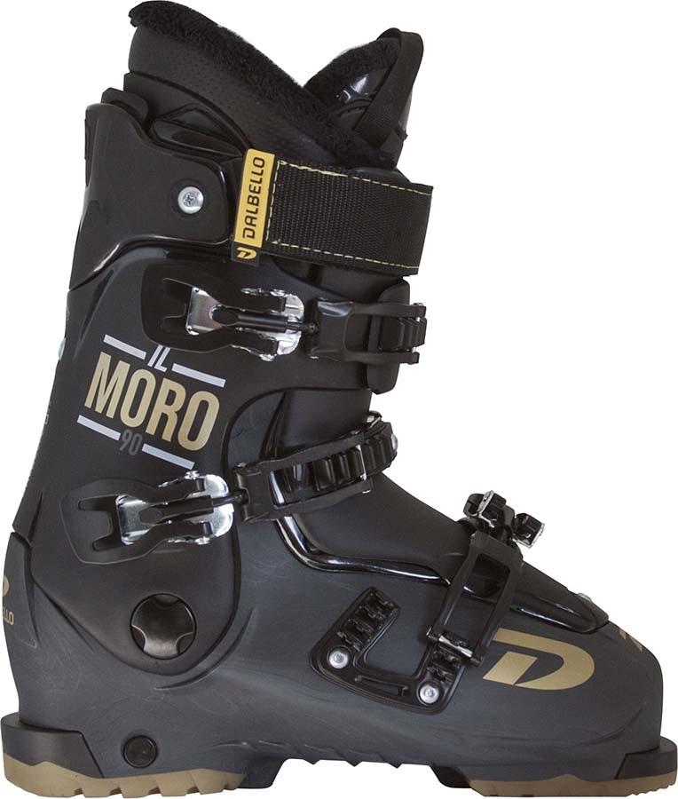 Dalbello IL Moro MX 90 Ski Boots, 26/26.5 Flame/Black 2022