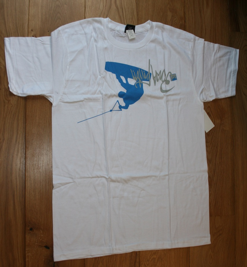 Liquid Force Action SS Scar Heavyweight T Shirt, XL White