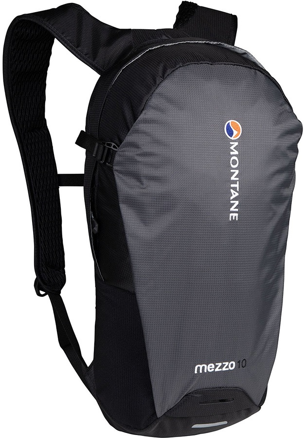 Montane Adult Unisex Mezzo Lightweight Day Pack/Backpack, 10l Charcoal