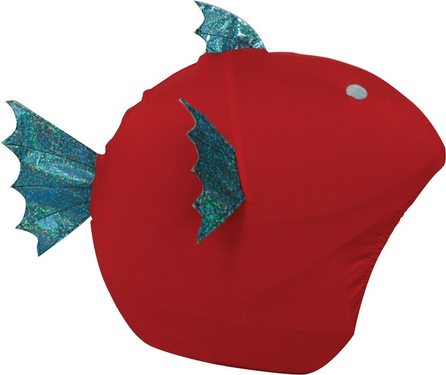 Coolcasc Animals Ski/Snowboard Helmet Cover, One Size, Fish
