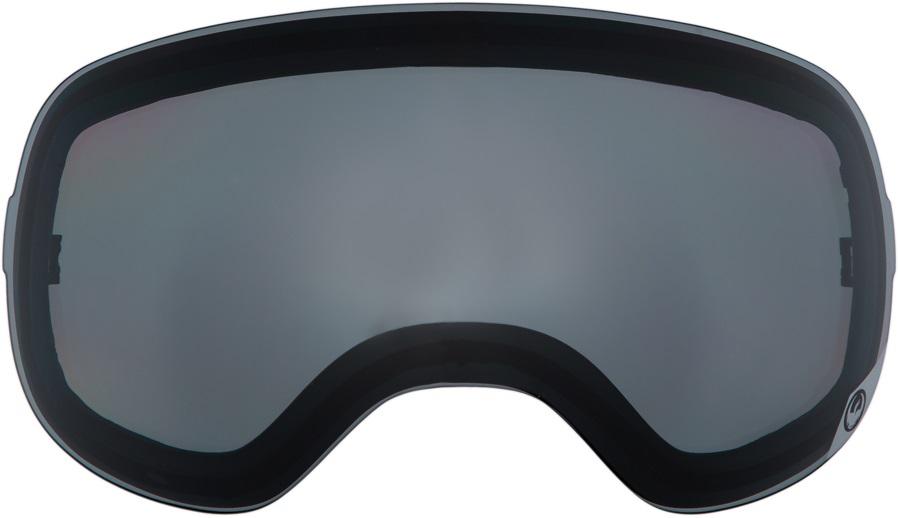 Dragon X1s Snowboard/Ski Goggle Spare Lens, One Size, Smoke