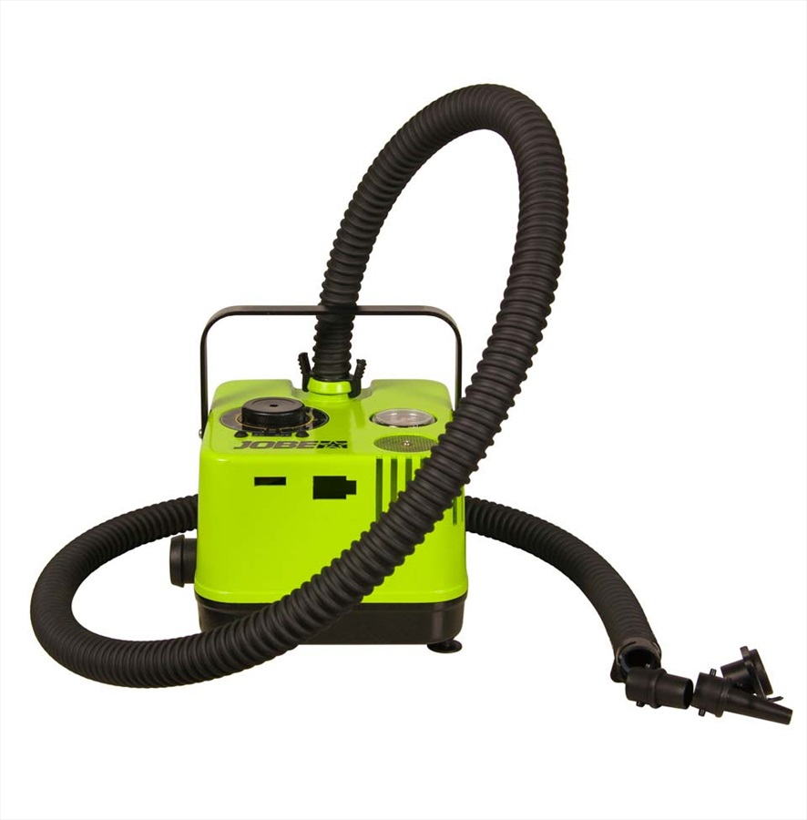 Jobe Portable Battery Powered Electric Air Pump, To 20psi Green 2021
