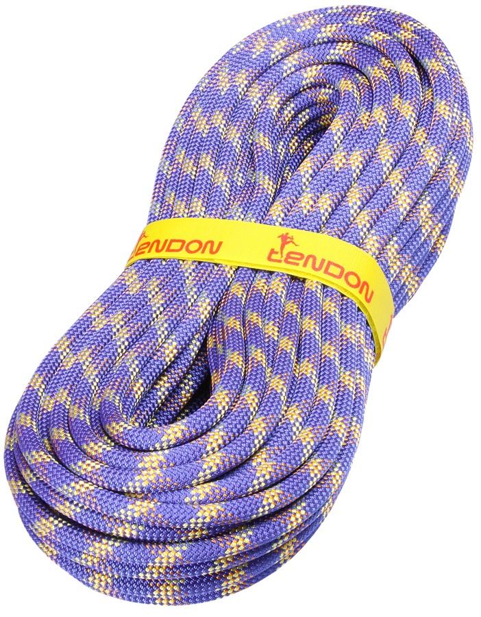 Tendon Smart Rock Climbing Rope, 50m X 10mm, Blue