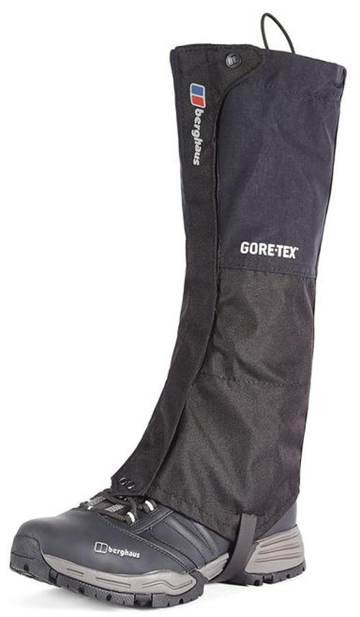 Berghaus GTX II Regular Mountaineering Boot Gaiter, S/M Black