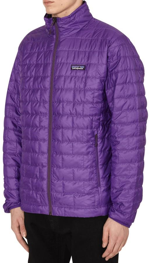 Patagonia Nano Puff PrimaLoft Insulated Jacket, S Purple