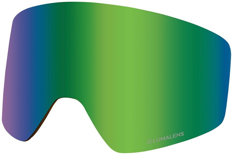 Dragon PXV2 Snowboard/Ski Goggles Spare Lens, LumaLens Green Ion