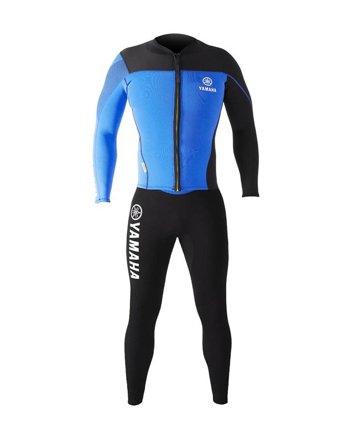 Jobe Long John and Jacket Yamaha Wetsuit, L Black Blue 2021