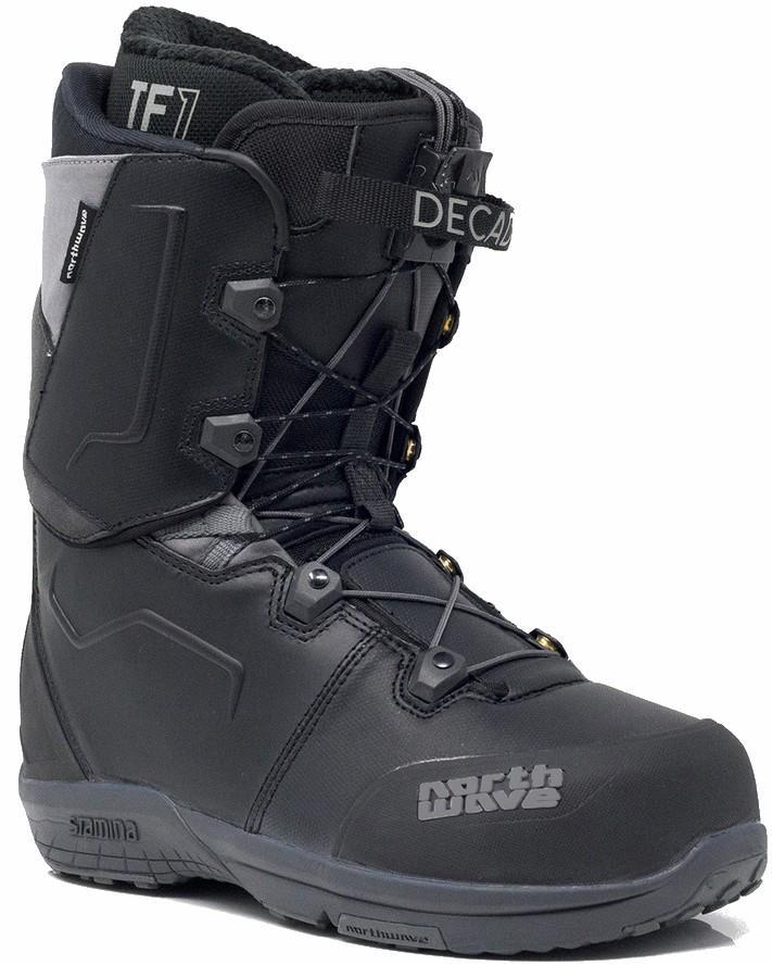 Northwave Decade SL Snowboard Boots, UK 10 Black 2020
