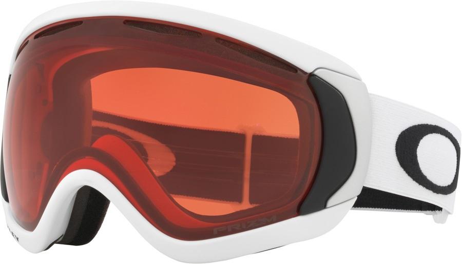 Oakley Canopy Prizm Rose Ski/Snowboard Goggles, L Matte White 2020