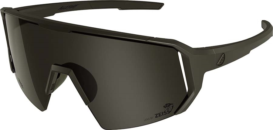 Melon Adult Unisex Alleycat Smoke Performace Sunglasses, M/L Black