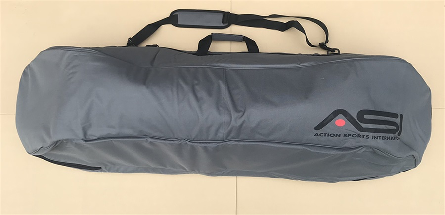 Straight Line Fully Padded ASI Wakeboard Bag, Up To 147 Grey
