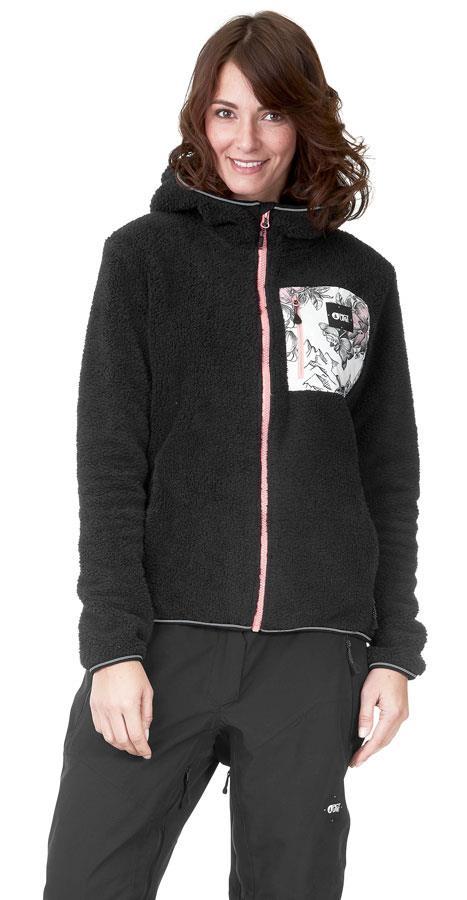 Picture Izimo Women's Full Zip Fleece Jacket, S Black