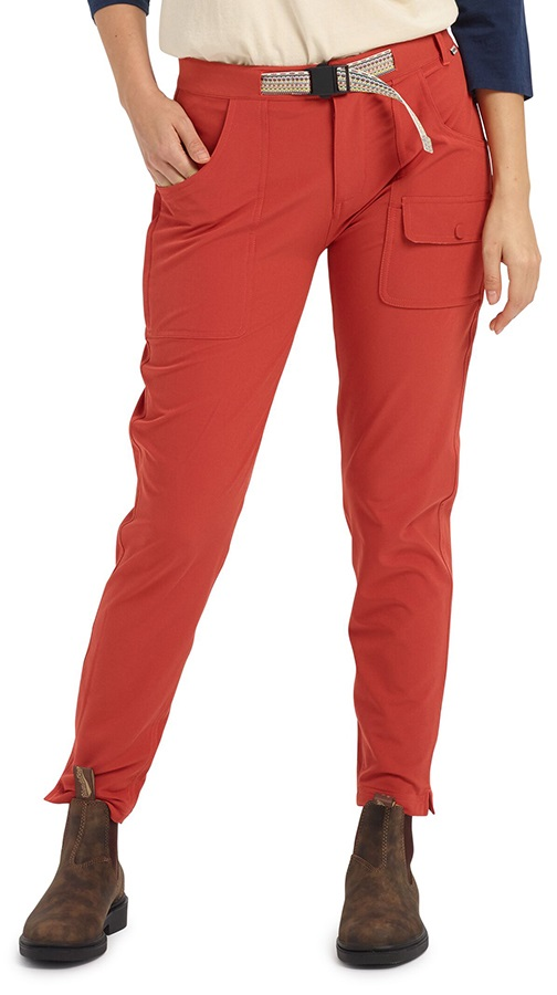 Burton Women's Chaseview Slim Stretch Pant, S Tandori
