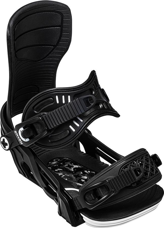 Bent Metal Axtion Snowboard Bindings, M Black 2021