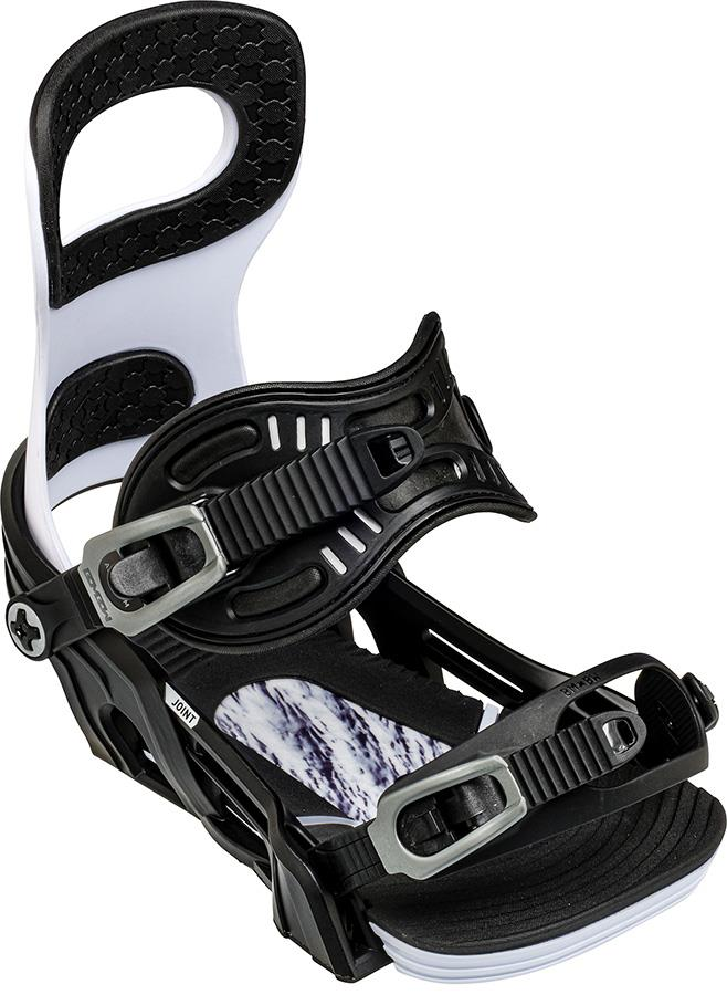 Bent Metal Joint Snowboard Bindings, M White 2021