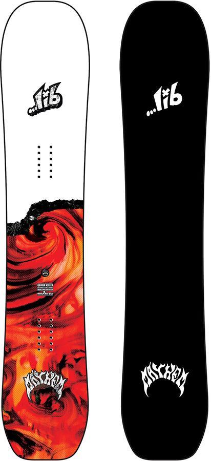 Lib Tech Lost Quiver Killer Hybrid Camber Snowboard, 154cm 2021