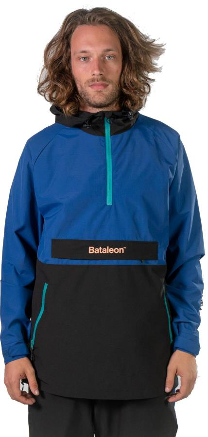 Bataleon Men's Slider Ski/Snowboard Anorak, L Black/Blue